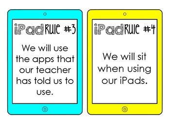 Classroom iPad Rules
