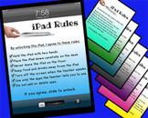 Classroom iPad Rules Screen Lock
