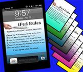 Classroom iPod Rules Screen Lock