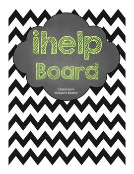 Classroom ihelp board