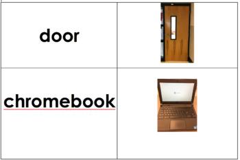 Classroom item matching