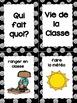 Les étiquettes pour la classe & French class jobs