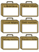 Classroom jobs display- briefcase style