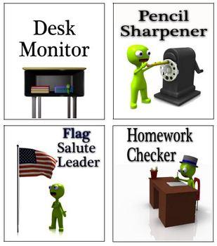 Classroom jobs, student jobs