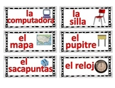 Classroom labels- Spanish