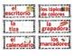 Classroom labels- Spanish