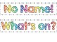 Classroom labels rainbow dot theme