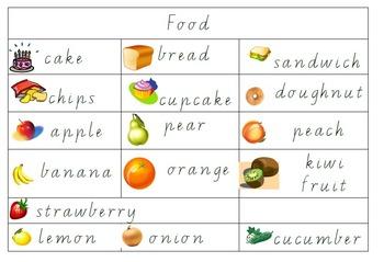 Classroom learning labels (Walker / Developmental learning areas)