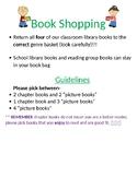 Classroom library book shopping