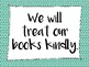 Classroom library rules