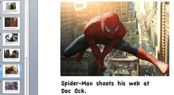 Classroom made Spider-Man Guided Reading Book--Super Fun!