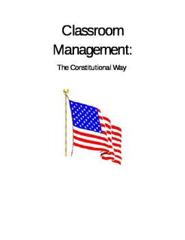 Using the Preamble for Classroom management