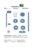 Classroom management: class map editable Word Document