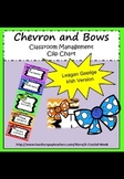 Classroom management clip chart(IN IRISH, AS GAEILGE) - ch