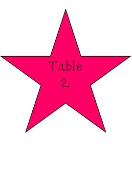 Classroom management for tables