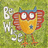 Owl,Classroom management poster,Good choices, classroom ru