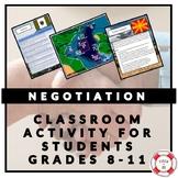 CLASSROOM NEGOTIATION ACTIVITY (RESOLVING AN INTERNATIONAL