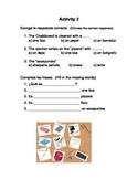 Classroom objects bundle