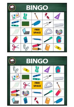Classroom objects ★BINGO★
