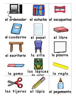 Back to School / Vuelta a la escuela SPANISH Games
