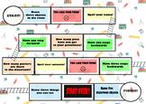 Classroom objects FREE fun BOARDGAME