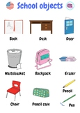 Classroom objects poster