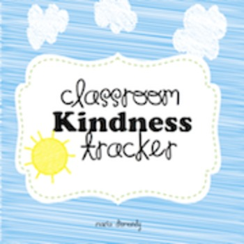 Classroom or Family Kindness Tracker
