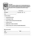 Classroom or Home Volunteer Survey