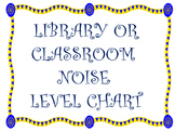 Classroom or Library Noise Level Chart
