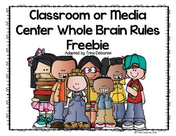 Classroom or Media Center Expectations