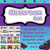 Classroom Bundle - decoration and organization