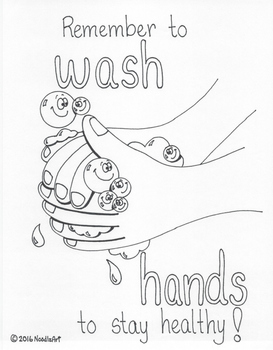 Classroom passes and hand washing poster