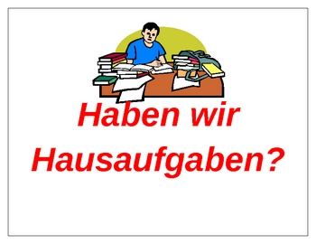 Classroom Phrases in German Posters