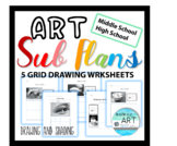 SUB PLANS-Grid Drawing Package #1