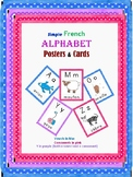 Classroom posters and cards- French Alphabet/Les Affiches