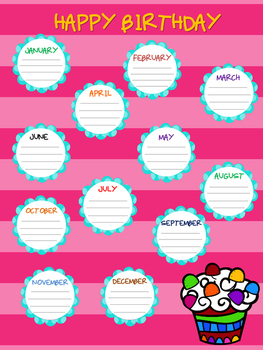 Classroom posters, classroom charts, class rules posters, organizers