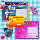 Classroom rewards scratch cards (Mixed themes)