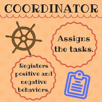 Classroom roles (Cooperative Learning)