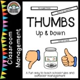 Classroom rules - Thumbs Up Thumbs Down