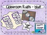Classroom rules - blue circles