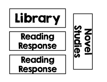 Classroom schedule pieces