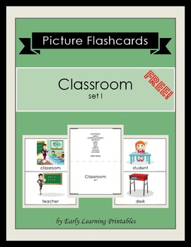Classroom (set I) Picture Flashcards