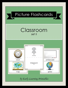 Classroom (set II) Picture Flashcards