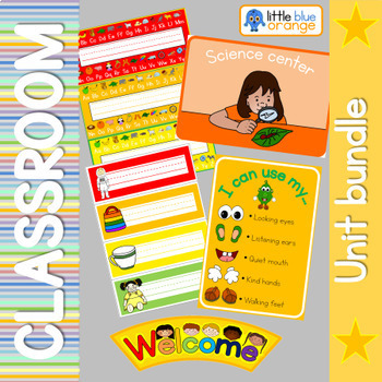 Classroom set-up bundle