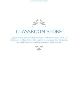 Classroom store