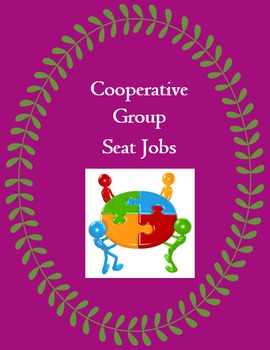 K - 8 Classroom Management: Cooperative Grouping Seat Jobs