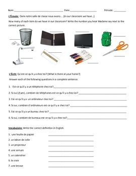 Classroom vocab quiz