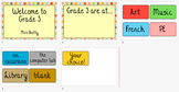 Classroom Location: polka dot theme - EDITABLE