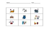 School words - bingo/memory/go fish