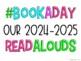 #ClassroomBookADay Read Aloud Display Poster